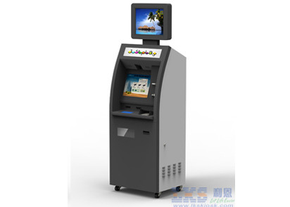 Check In / Out Bill Payment Hotel Kiosk With Dual Screen , Receipter Printer