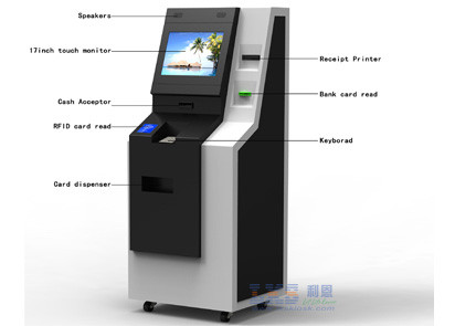 ATM Financial Service Kiosk/Cash Payment Kiosk/Kiosk Atm Terminal,Nice Design with Reasonable Price from LKS