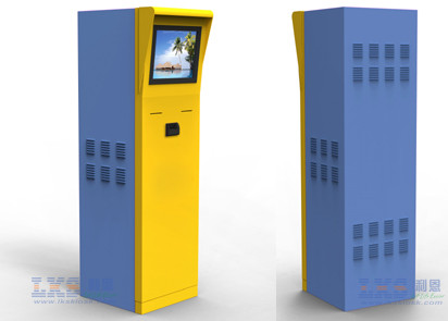 IR Touch Screen Card Dispenser Kiosk Anti - Vandal Indoor / Outdoor Application