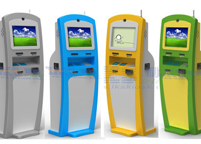 Customized Self Checkout Kiosk Payment Card Dispenser Kiosk For Check In Hotel Use