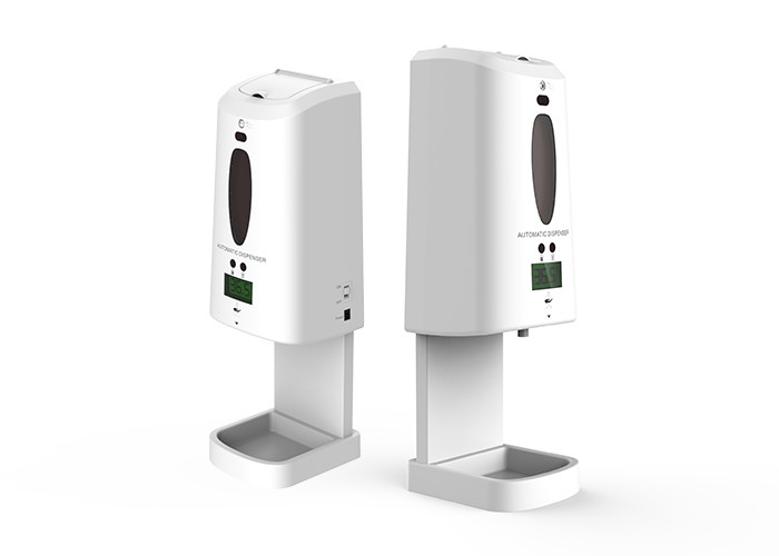 LCD Display 1300ml Station Sensor Liquid Soap Dispenser