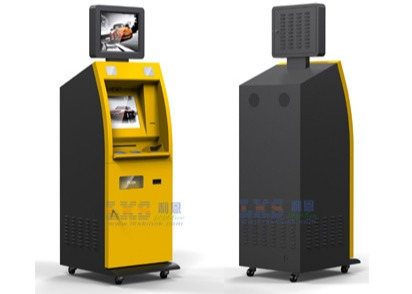 LCD touch screen self-service payment kiosk