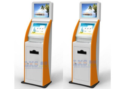 Digital Picture Printing Kiosk Windows7 WIFI Internet Dual Screen Information