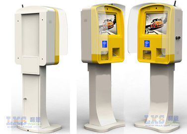 Beli Kustom Semi Outdoor Parking Lot Self Ordering Kiosk LCD Menampilkan 17/19 Inch on line produsen